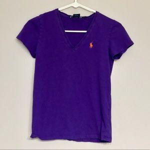 Ralph Lauren Purple Top size XS